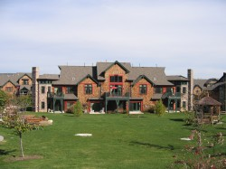 Exterior Picture Of A Pennsylvania Mansion Designed By Professional Architects - Minno and Wasko Architects and Planners